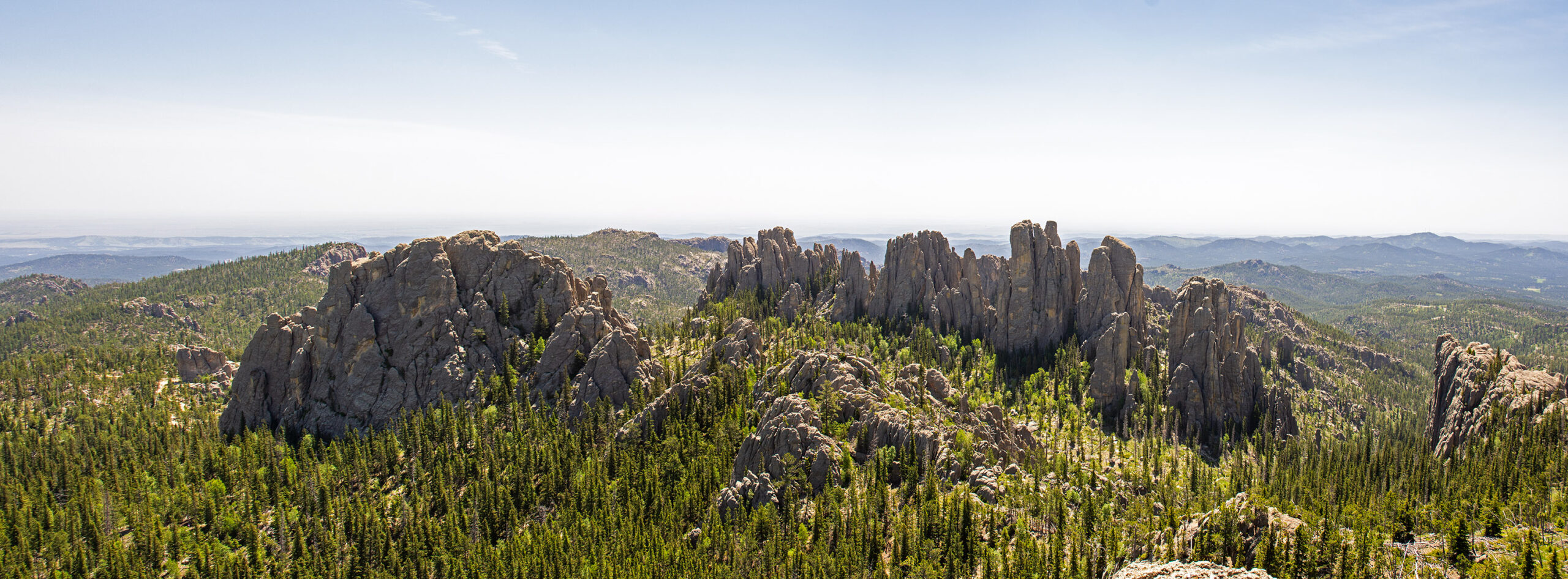 Cathedral Spires from Little Devil's Tower