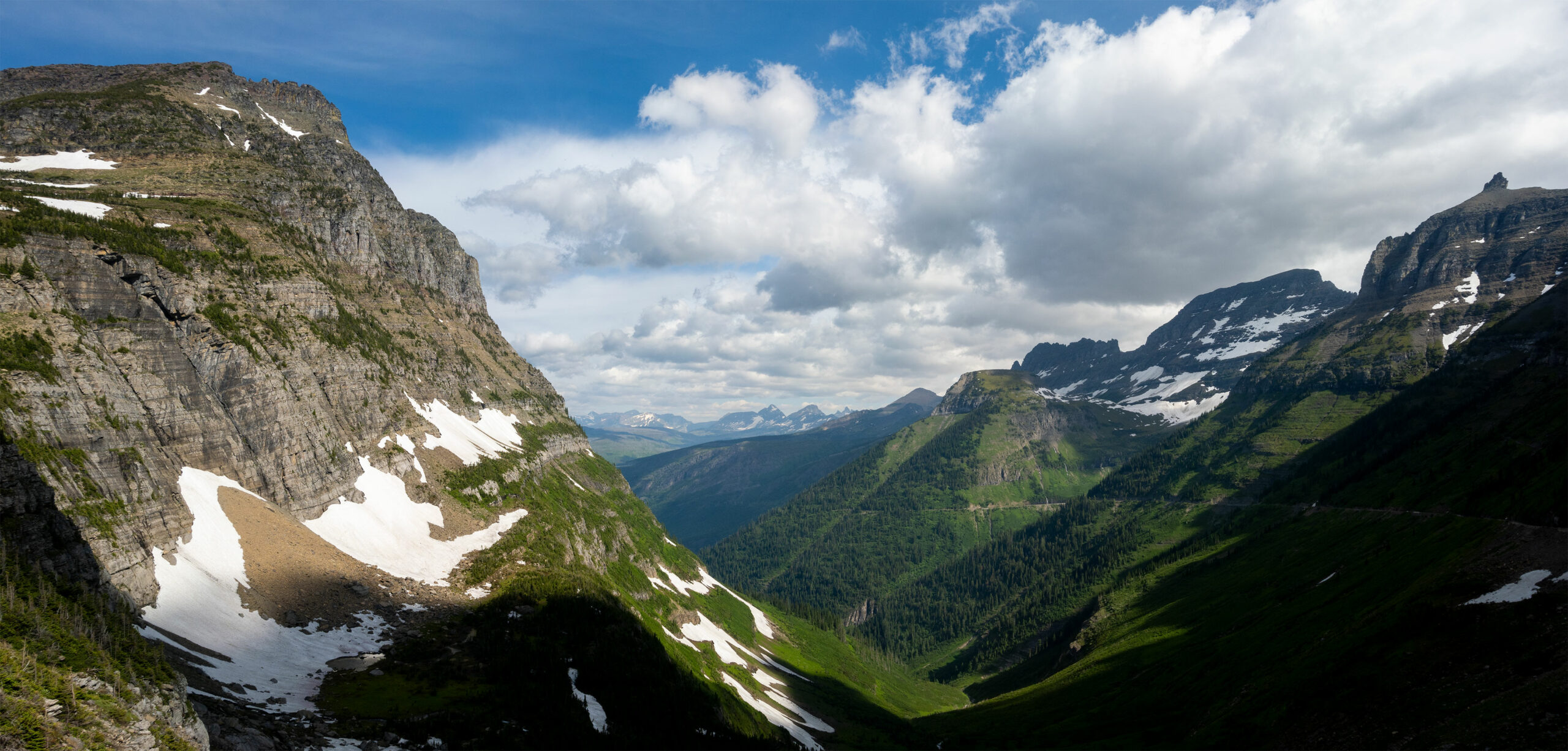 Mt. Oberlin (left) & Bishops Cap (right)