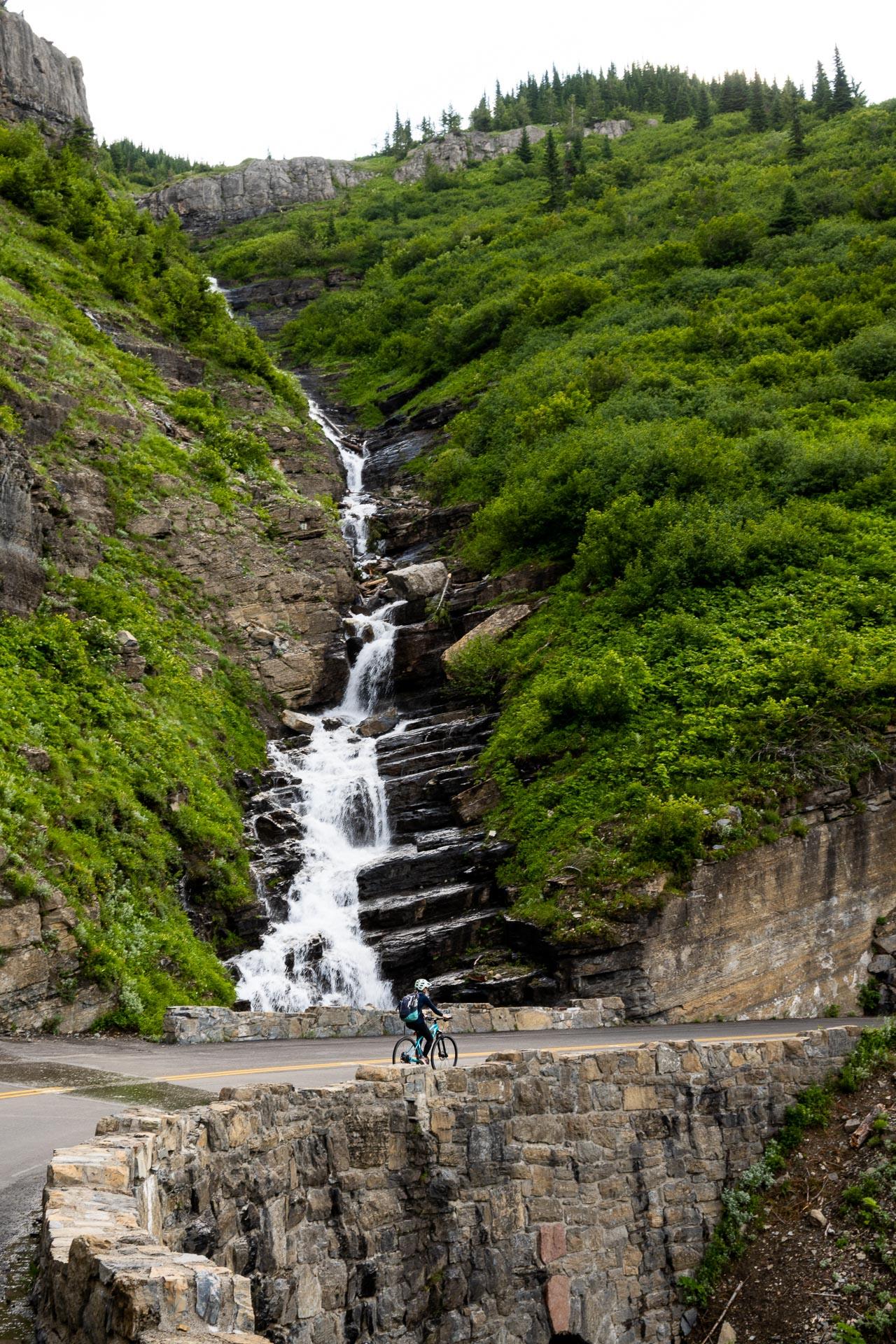 Falls from Alder Creek