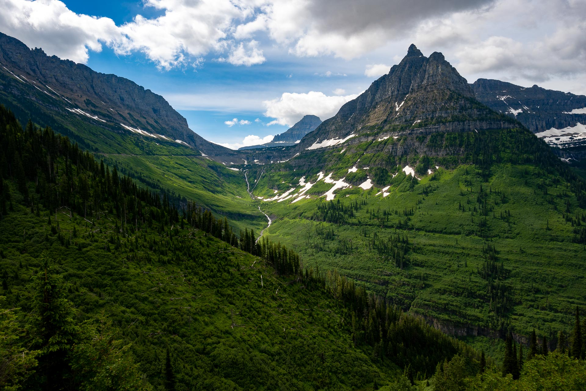 Logan Creek & Mt. Oberlin