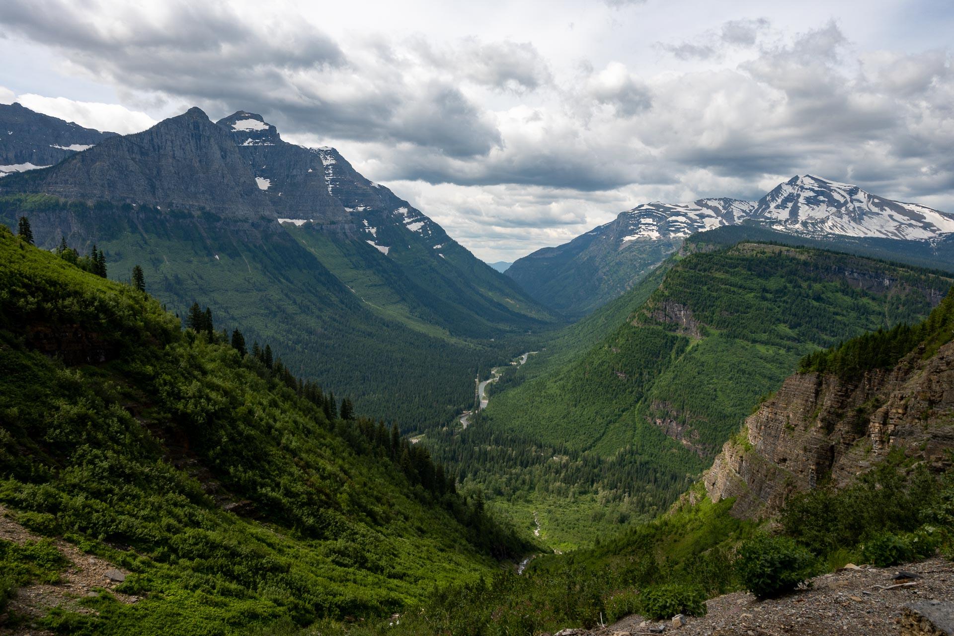 Mount Cannon, Haystack Creek, Heavens Peak