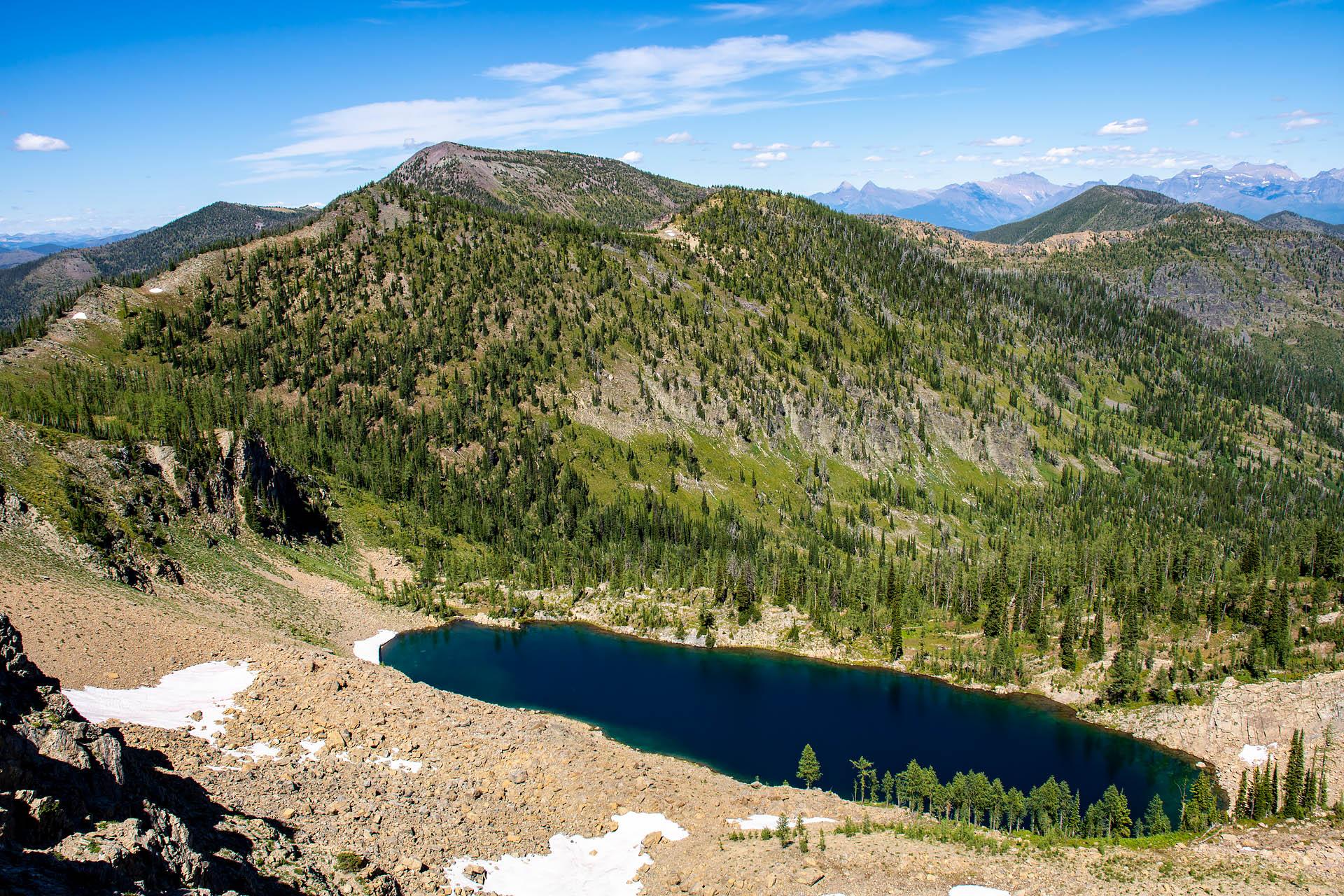 Chain Lakes & Nasukoin Mountain