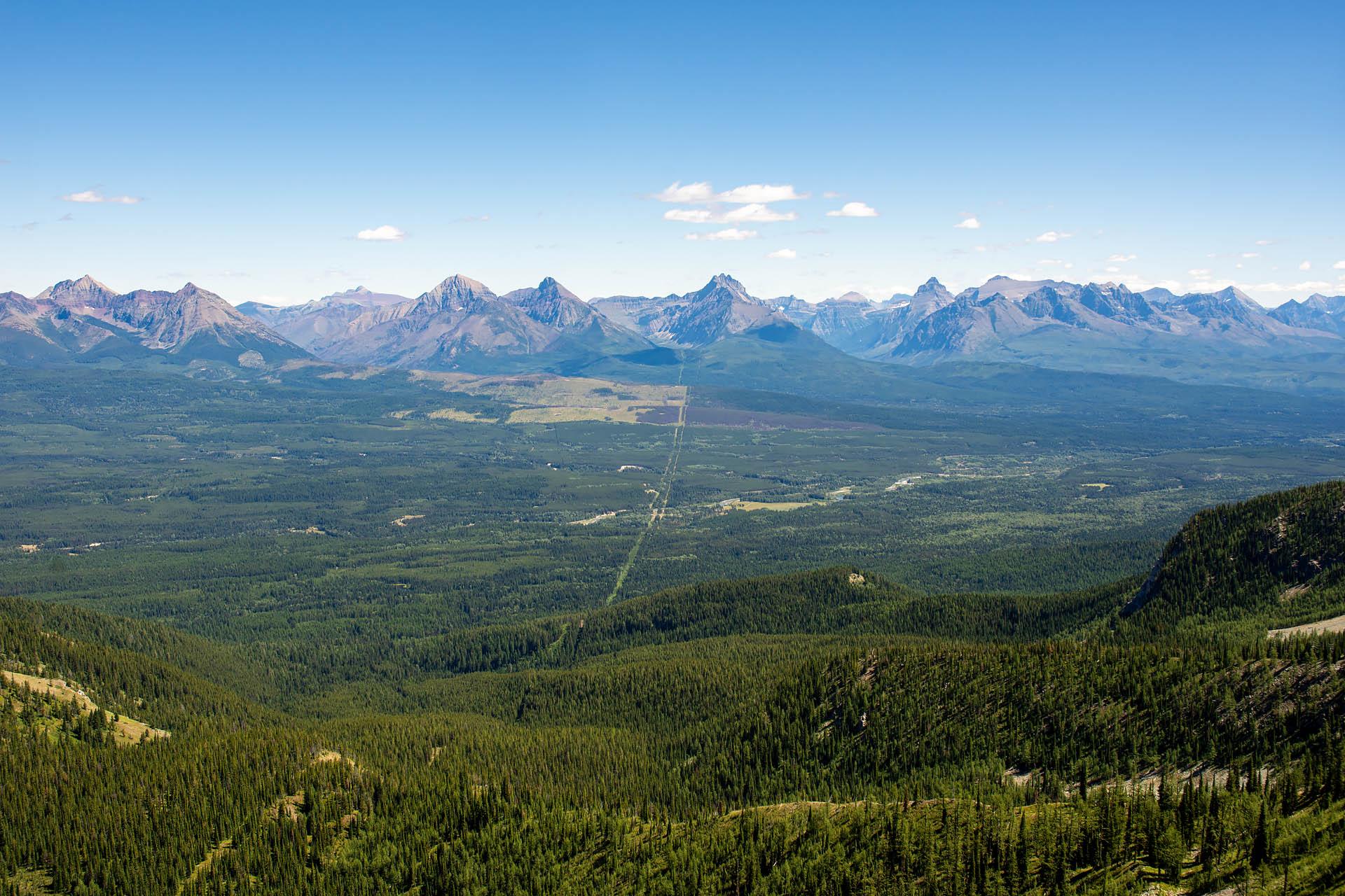 The Slash & Glacier NP (looking east)