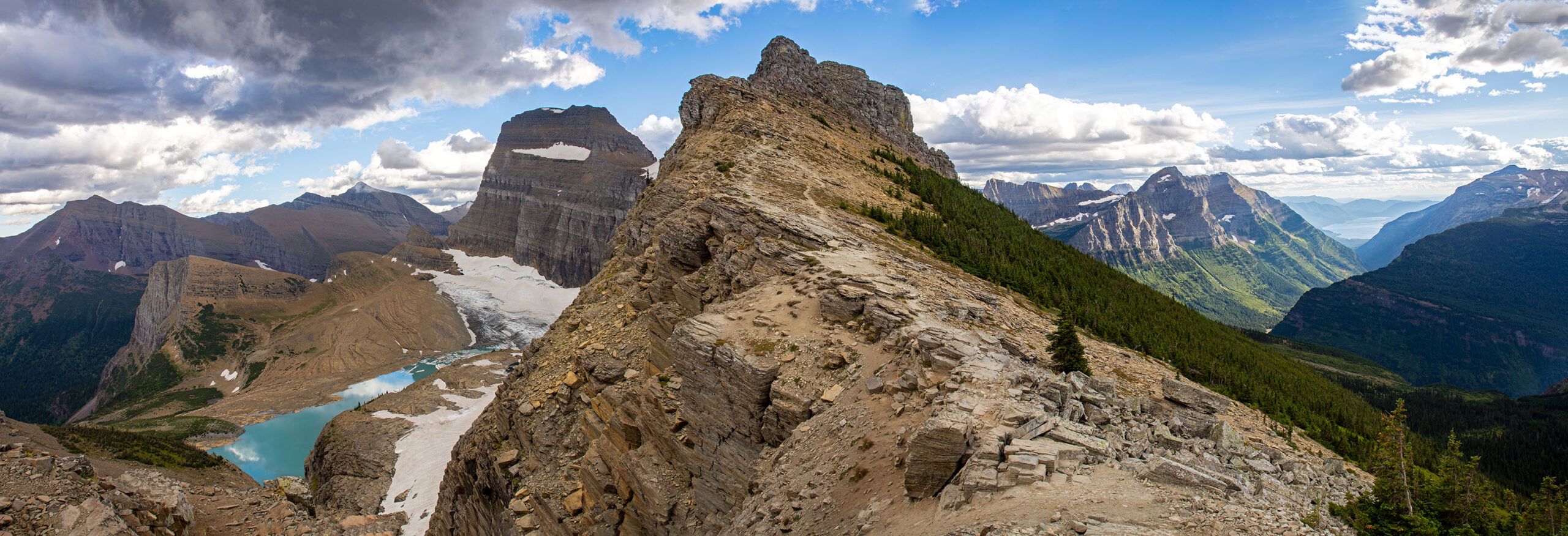 Highline Trail & Grinnell Glacier Overlook