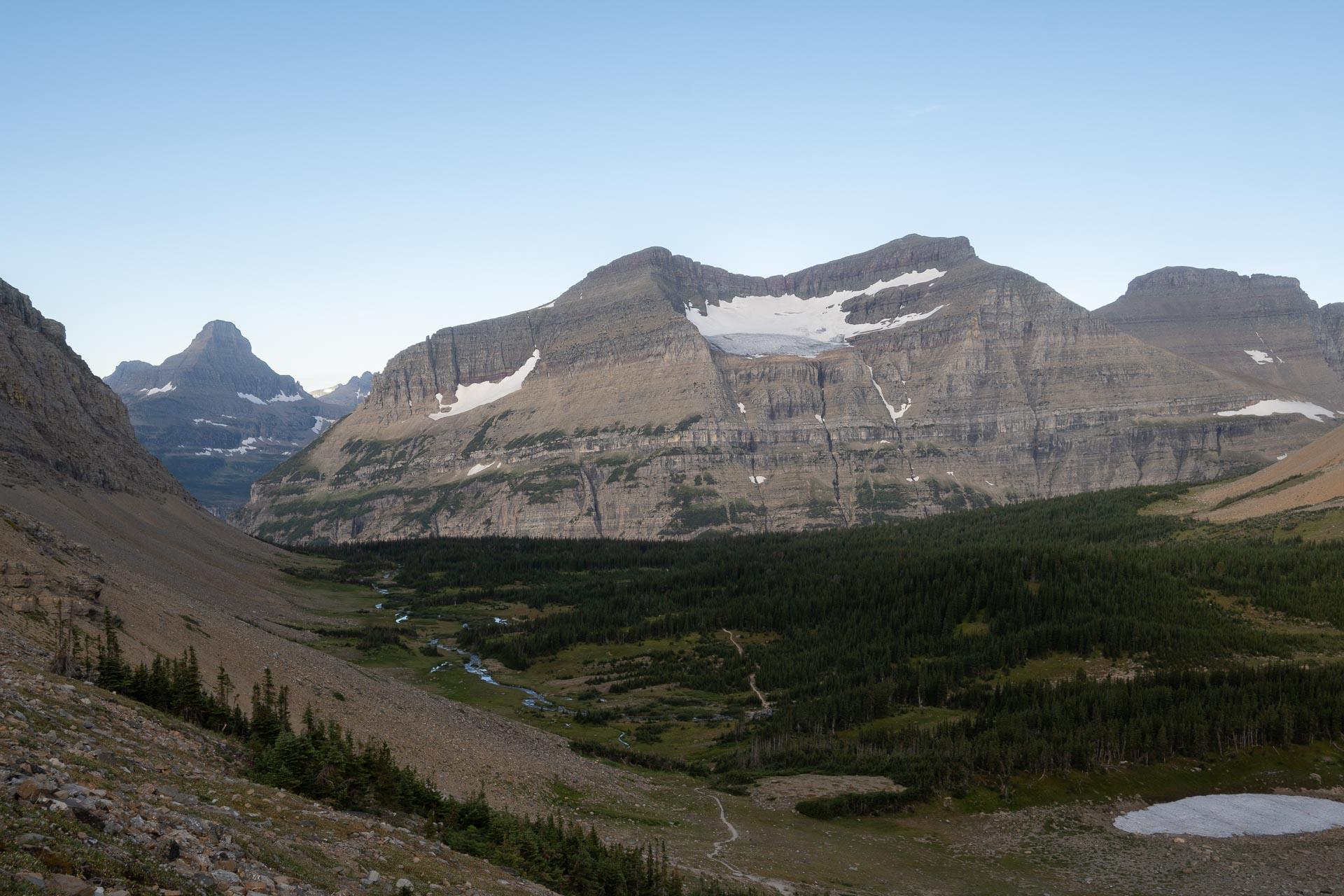 Piegan Glacier & Piegan Mountain