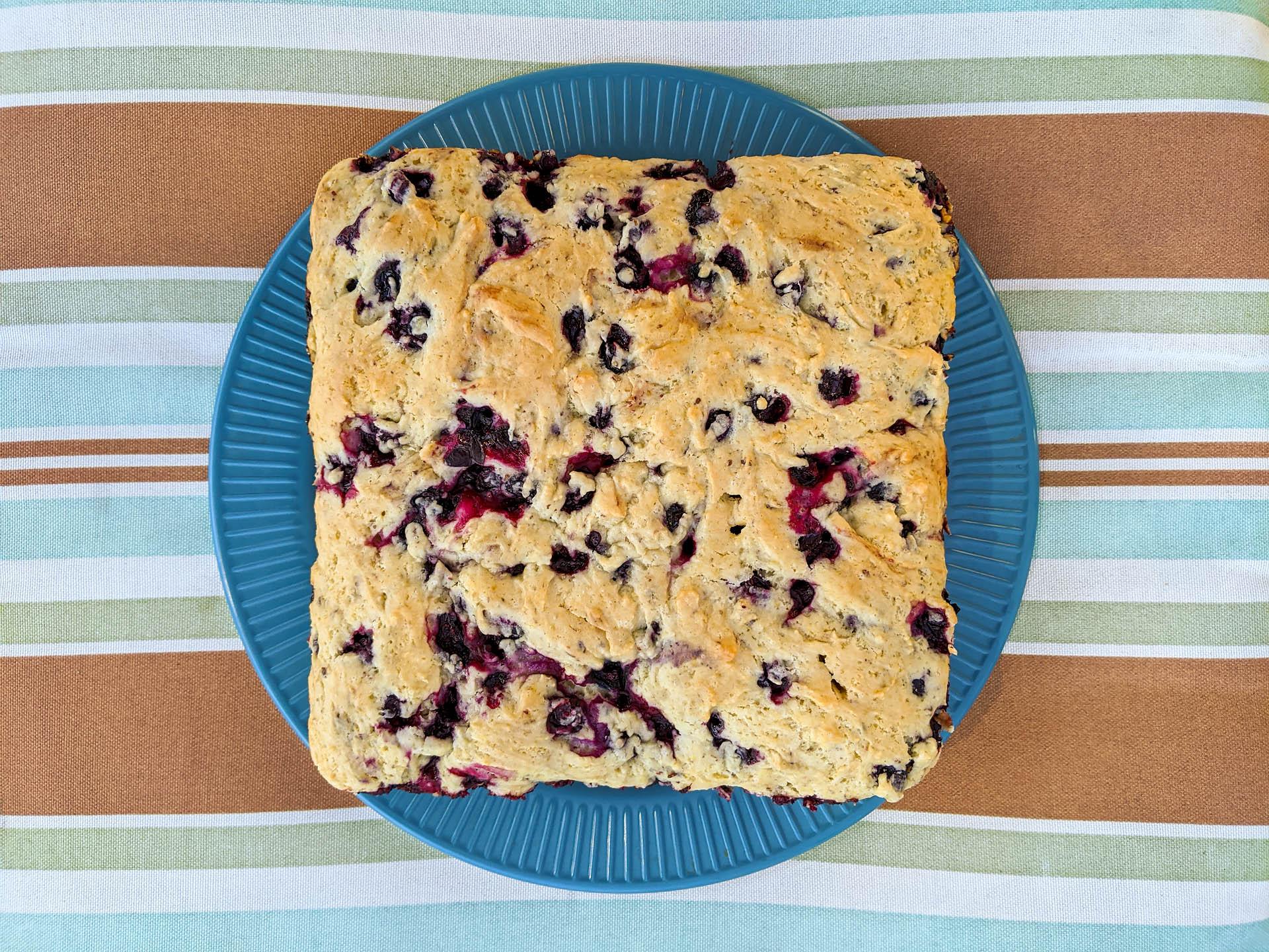 Huckleberry cake