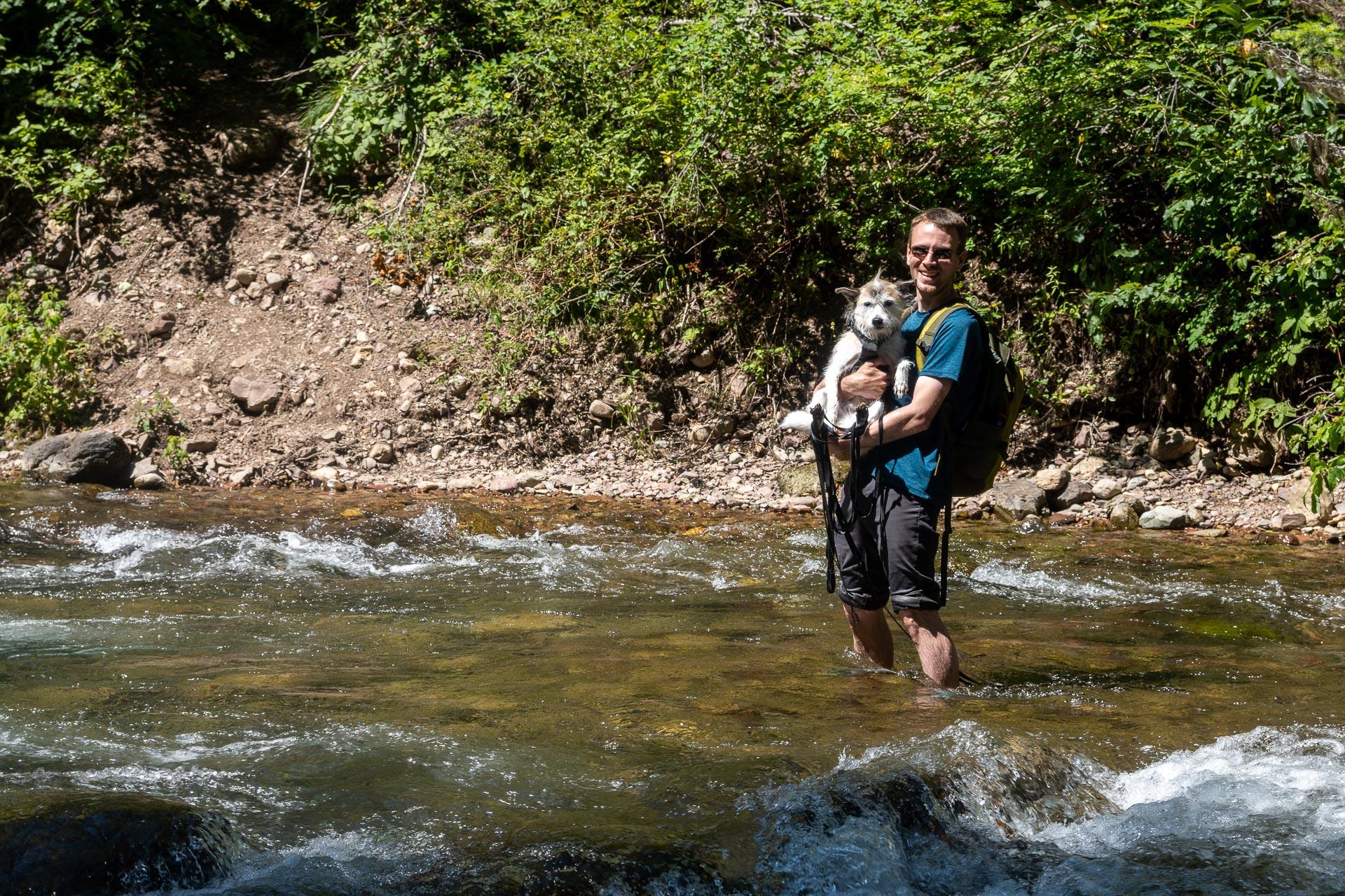 Crossing Stanton Creek