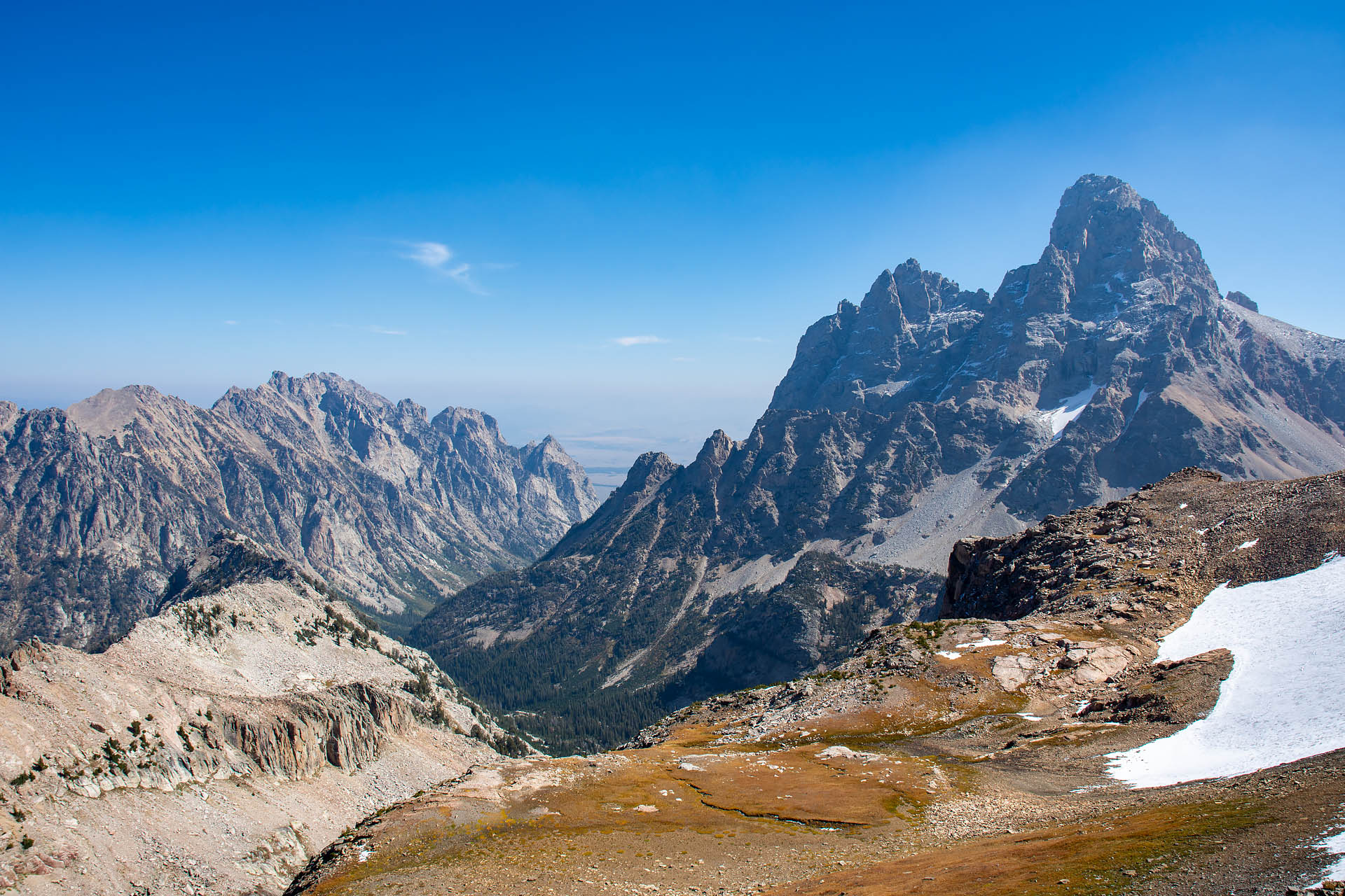 Grand Teton from Table Mountain