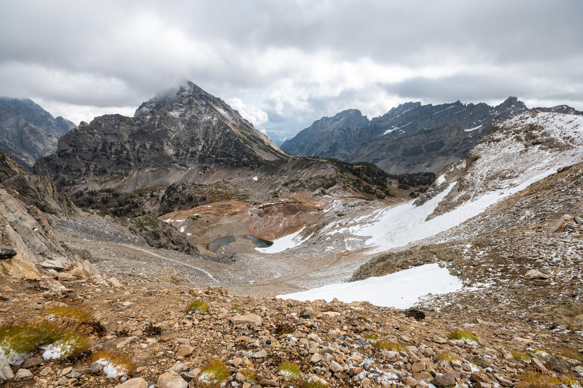 Mt. Woodring & unnamed laklets