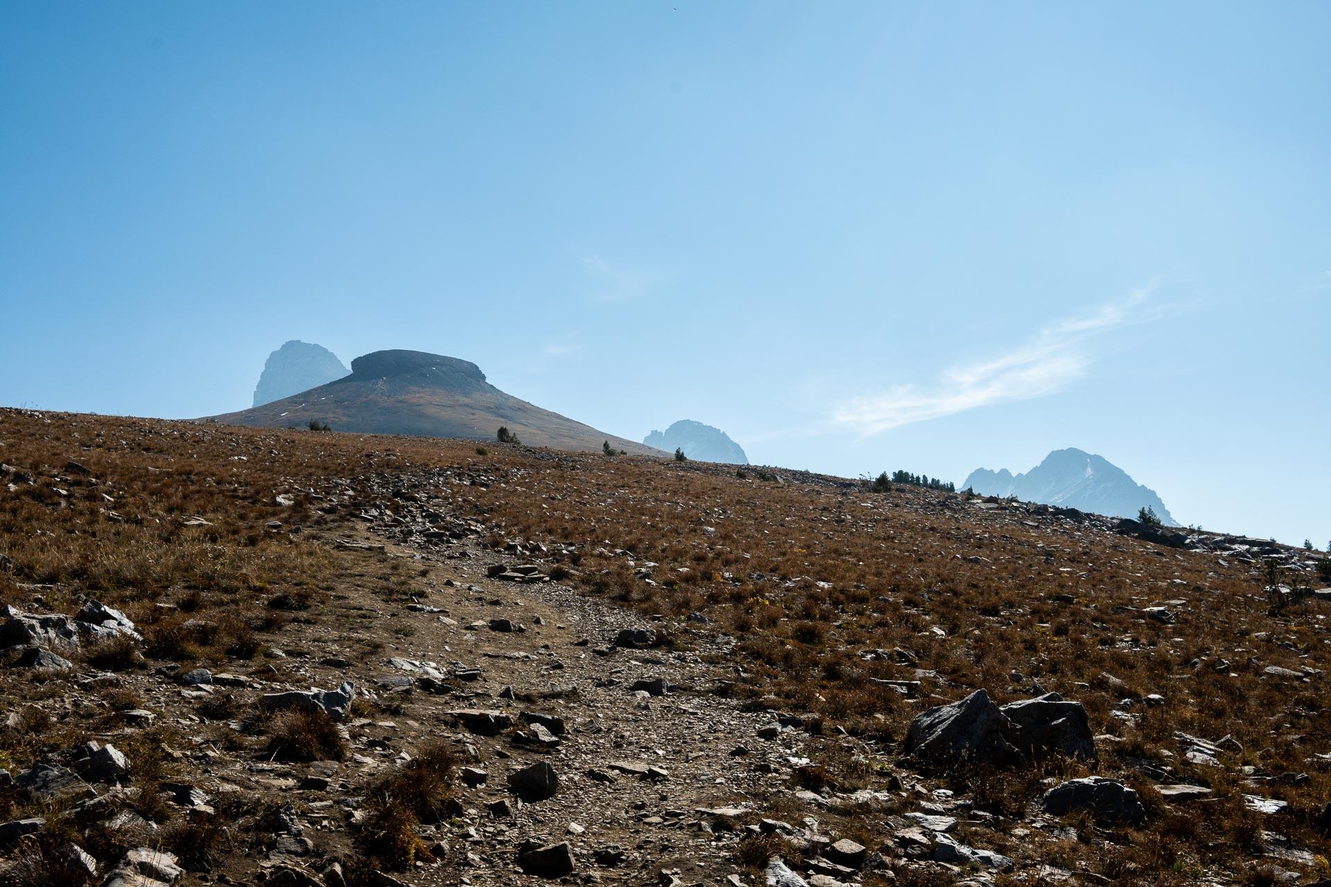 Table Mountain's summit