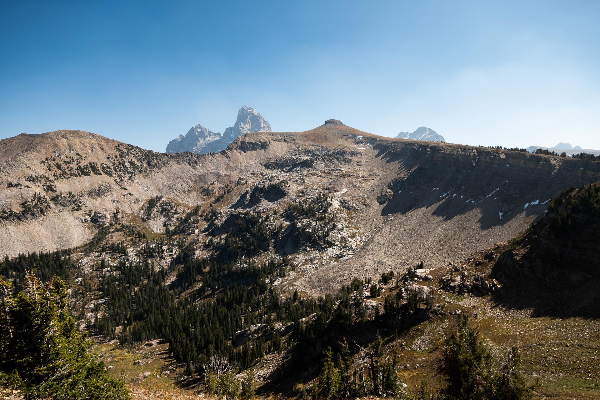 Table Mountain & Grand Teton