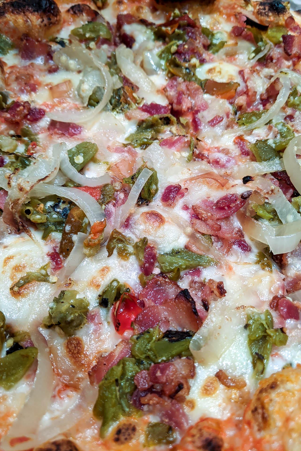 Bacon green chili