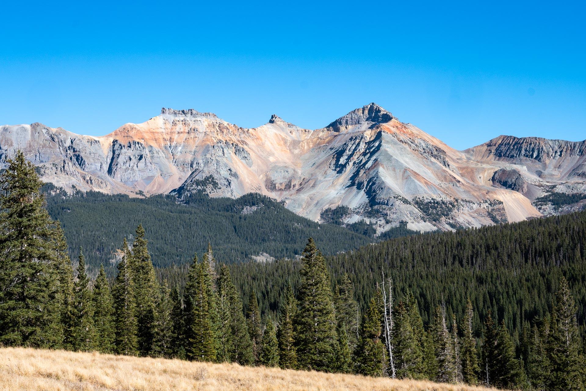 Pilot Knob, Golden Horn, Vermillion Peak