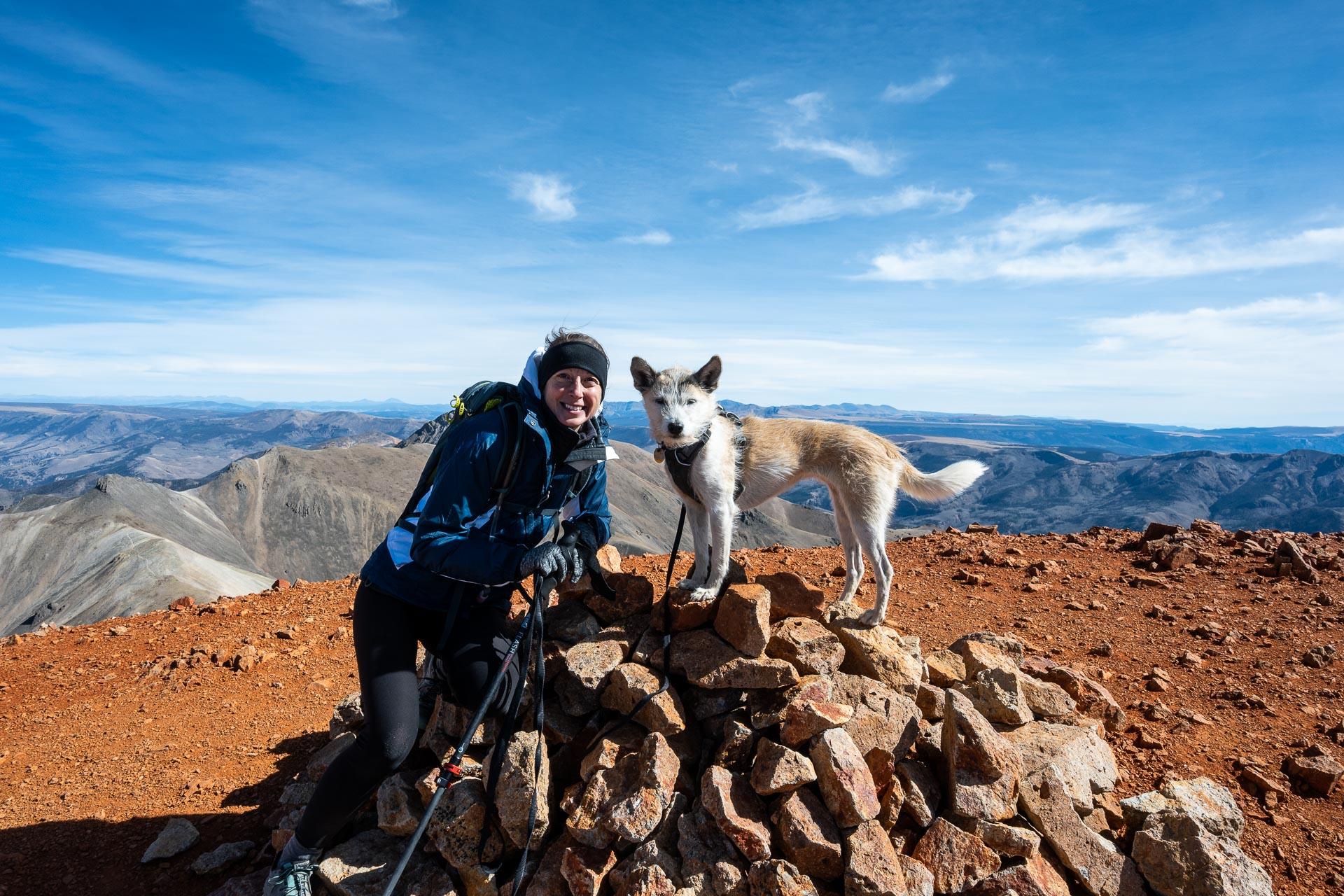 Redcloud's summit (14,034')
