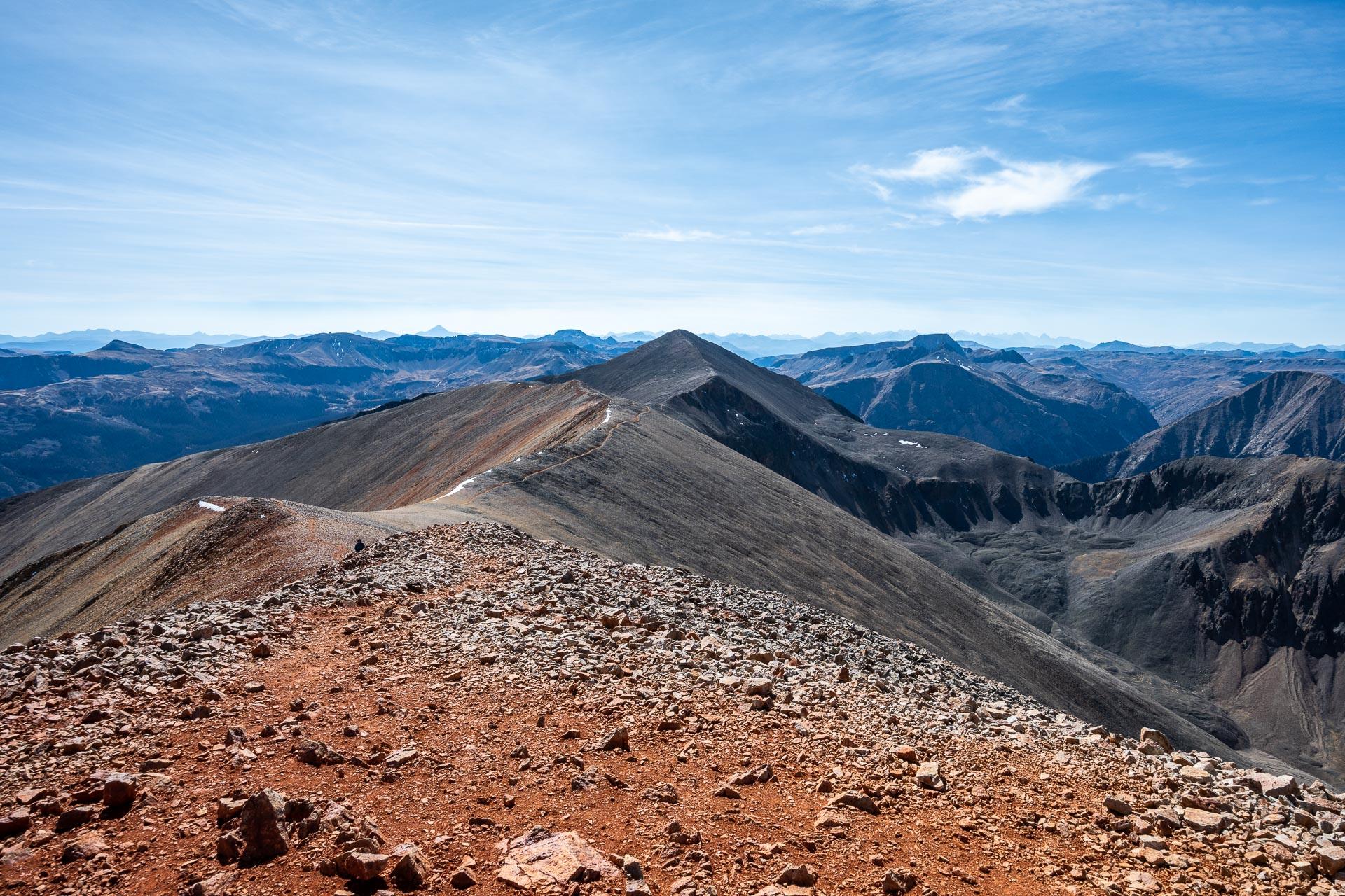 Saddle to Sunshine Peak