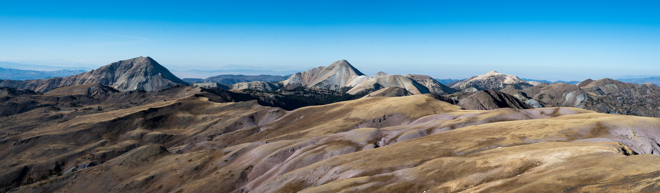 Mt. Baldy & Mt. Belknap from Delano's summit