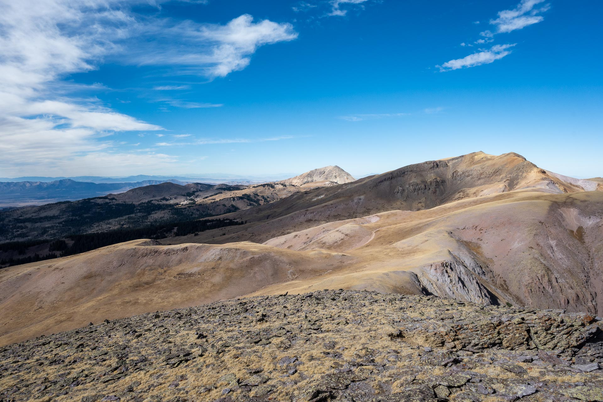 Mt. Delano & Mt. Baldy