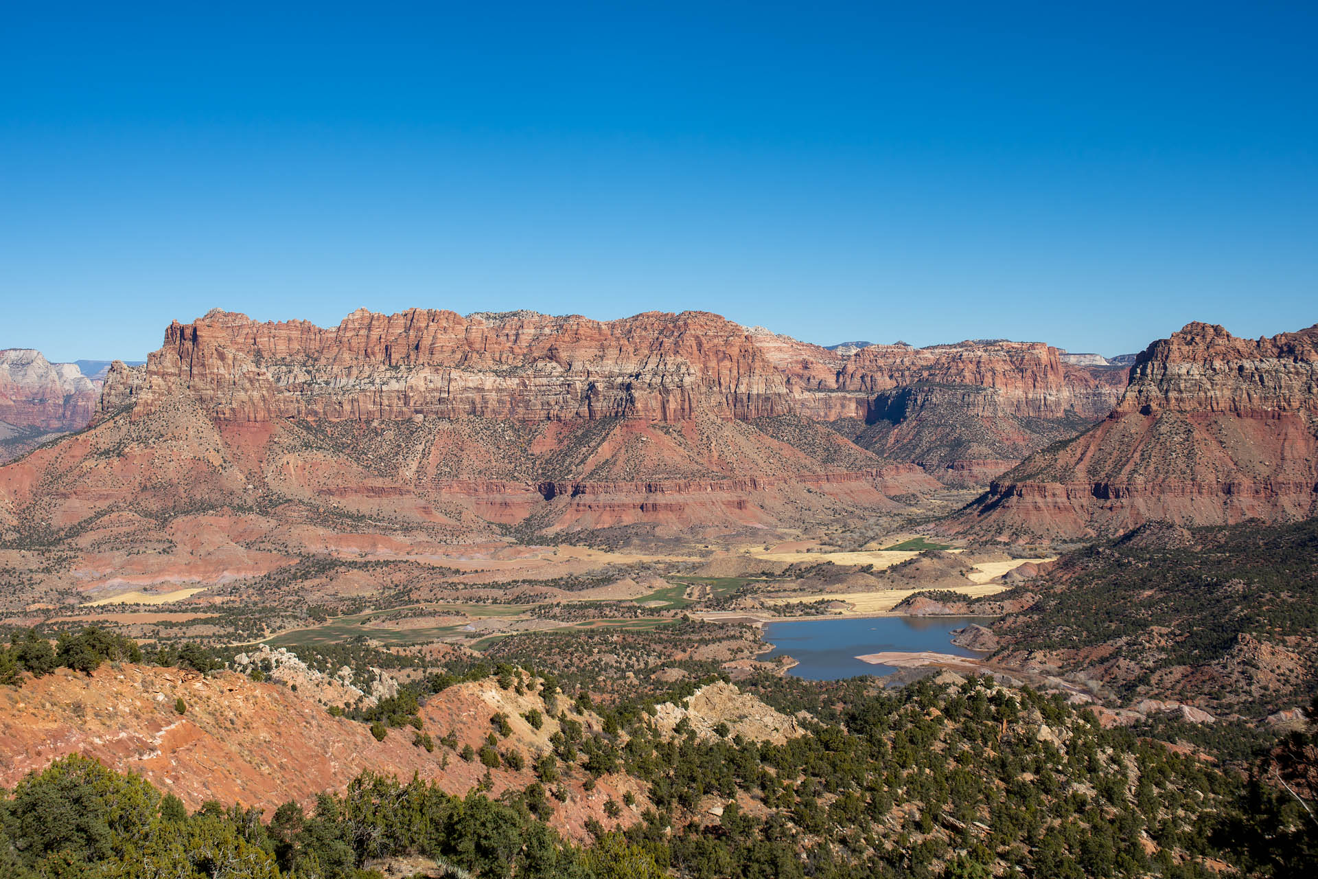 South Creek Reservoir & Parunuweap Canyon