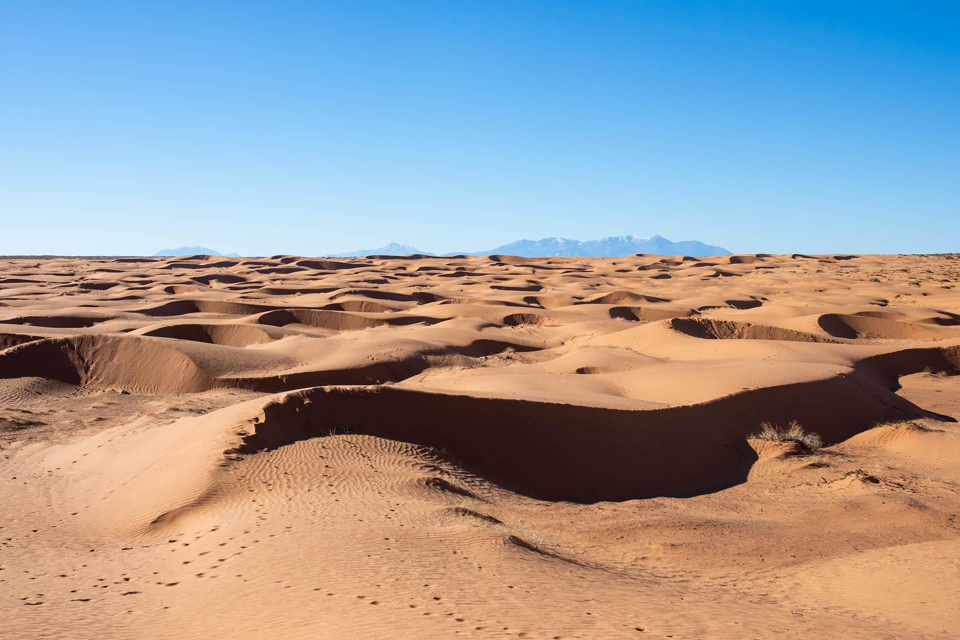 San Rafael Desert & La Sal Mountains