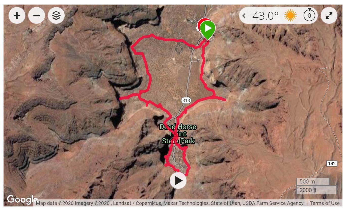 Dead Horse Point State Park - Satellite