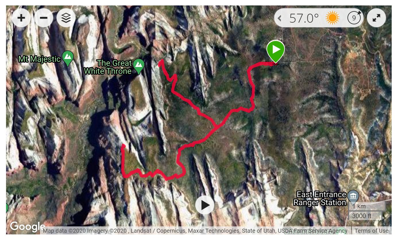 Deertrap & Cable Mts - Satellite