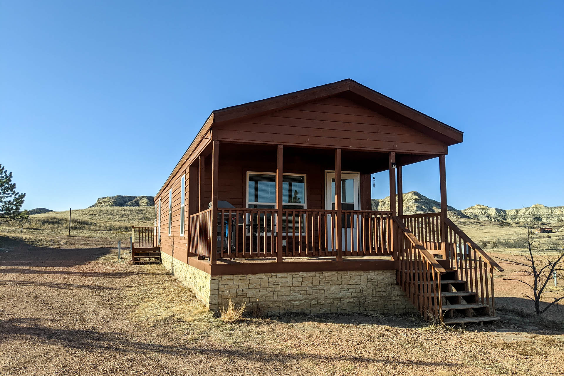Cowboy cabin, Boots Campground