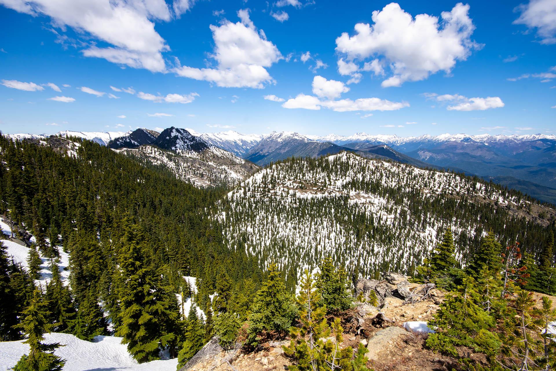 Dirtyface Peak, Glacier Peak