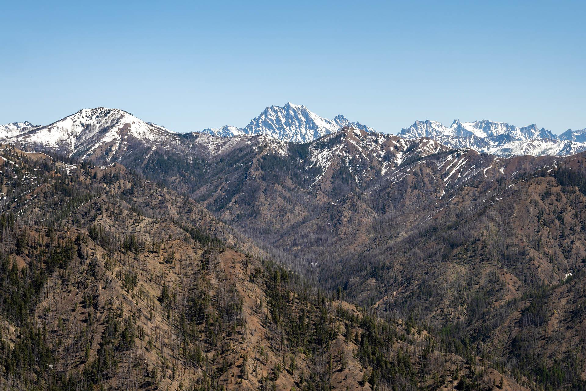 Mount Stuart (center)