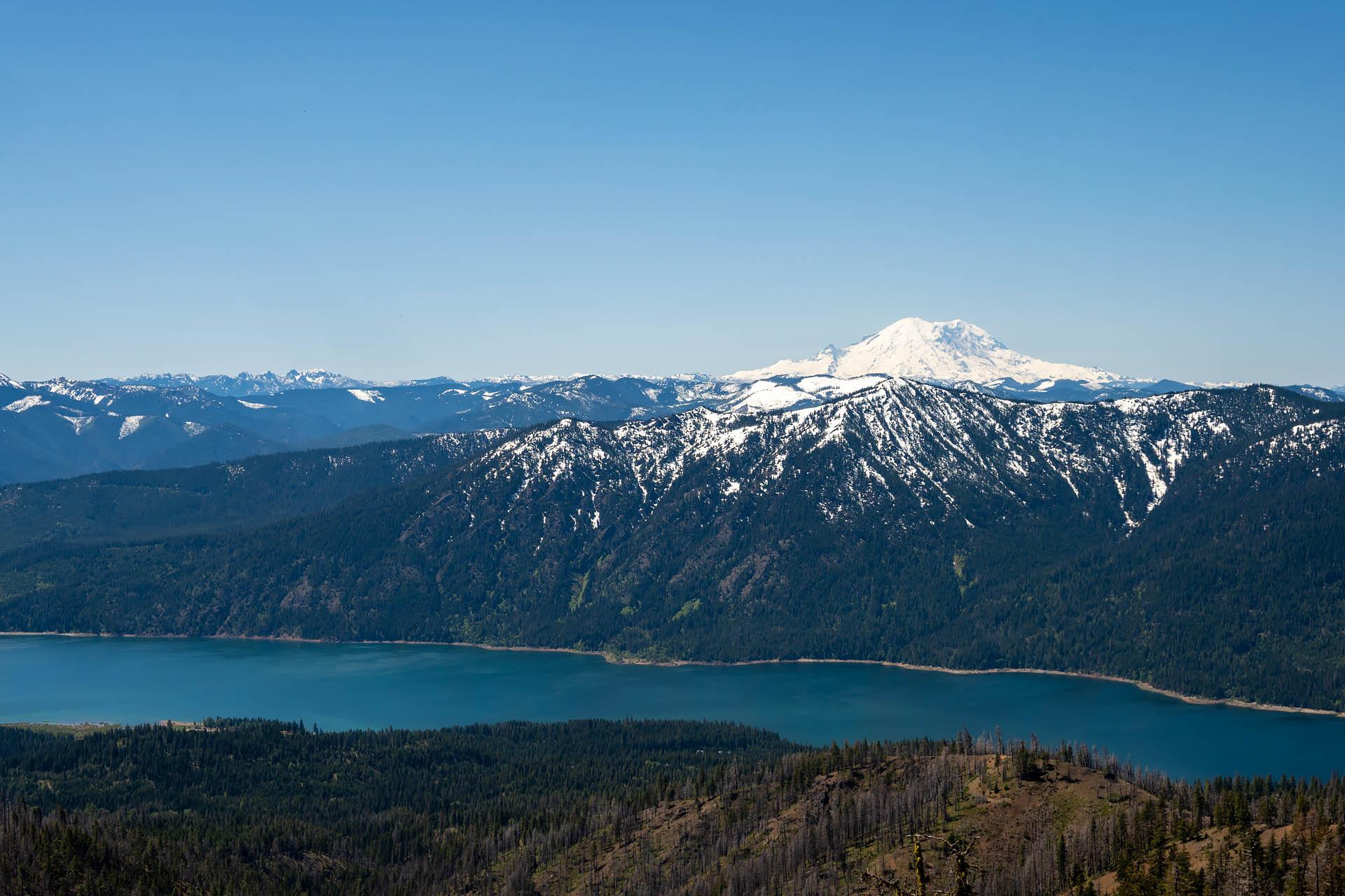 Cle Elum Lake, Mt. Rainier