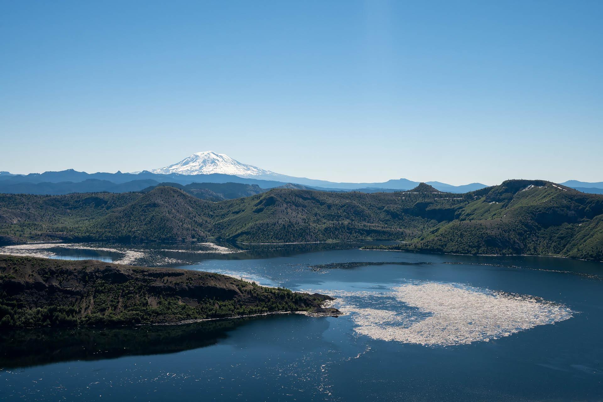 Spirit Lake & Mt. Adams