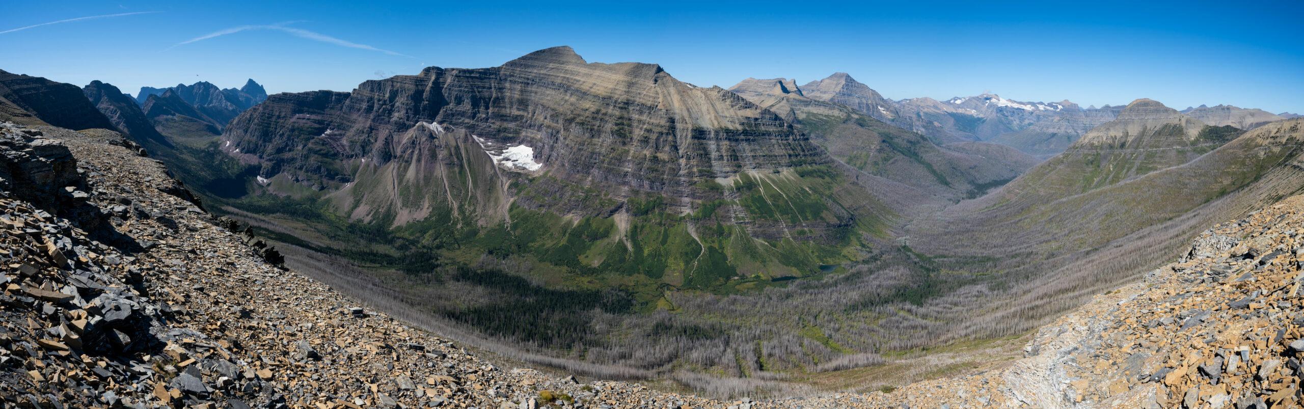 Mt. Phillips from Dawson Pass