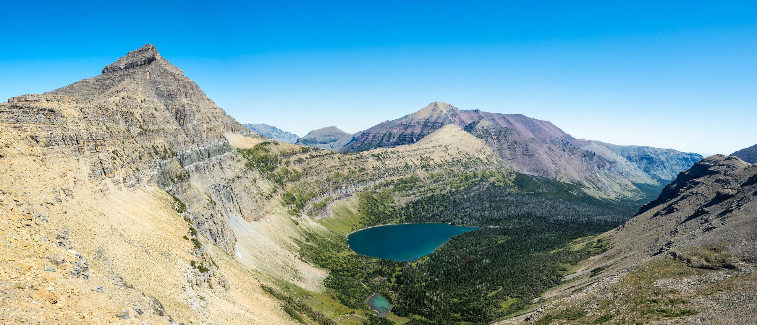 Oldman Lake, Mt. Morgan, Red Mountain