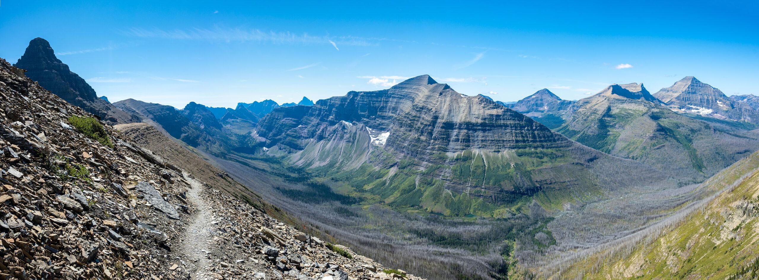 Flinsch Peak, Mt. Phillips, Mt. Pinchot, Mt. Stimson