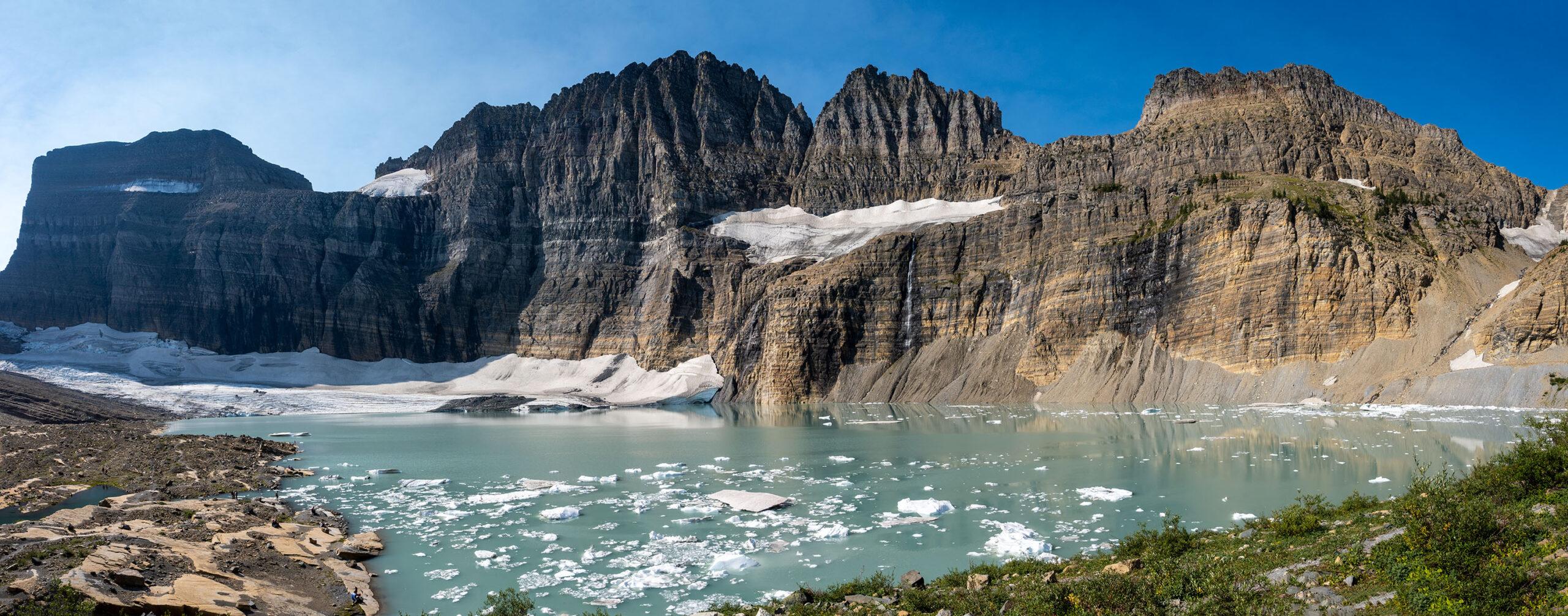Grinnell Glacier & Upper Grinnell Lake