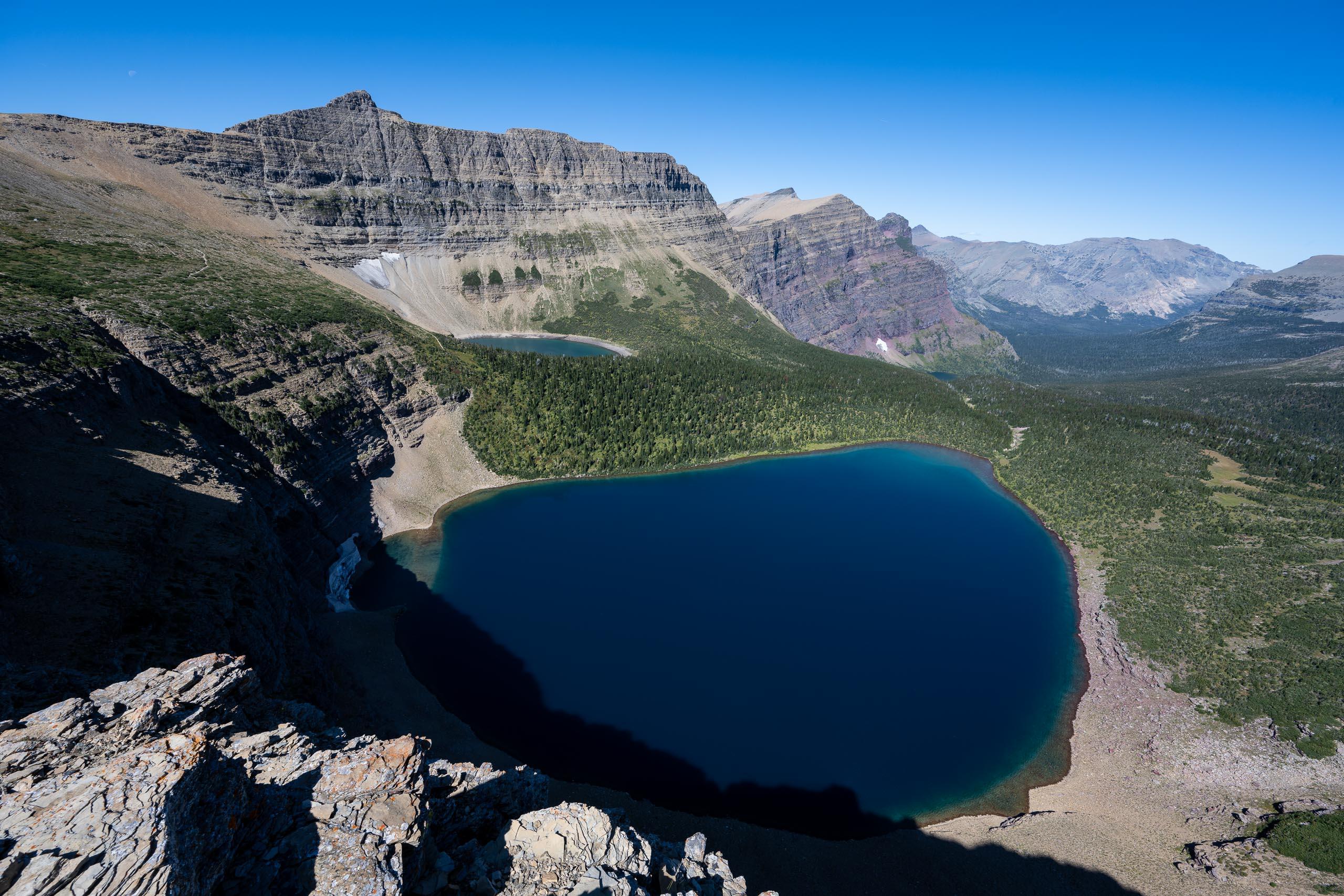 Pitamakan Lake, McClintock Mountain