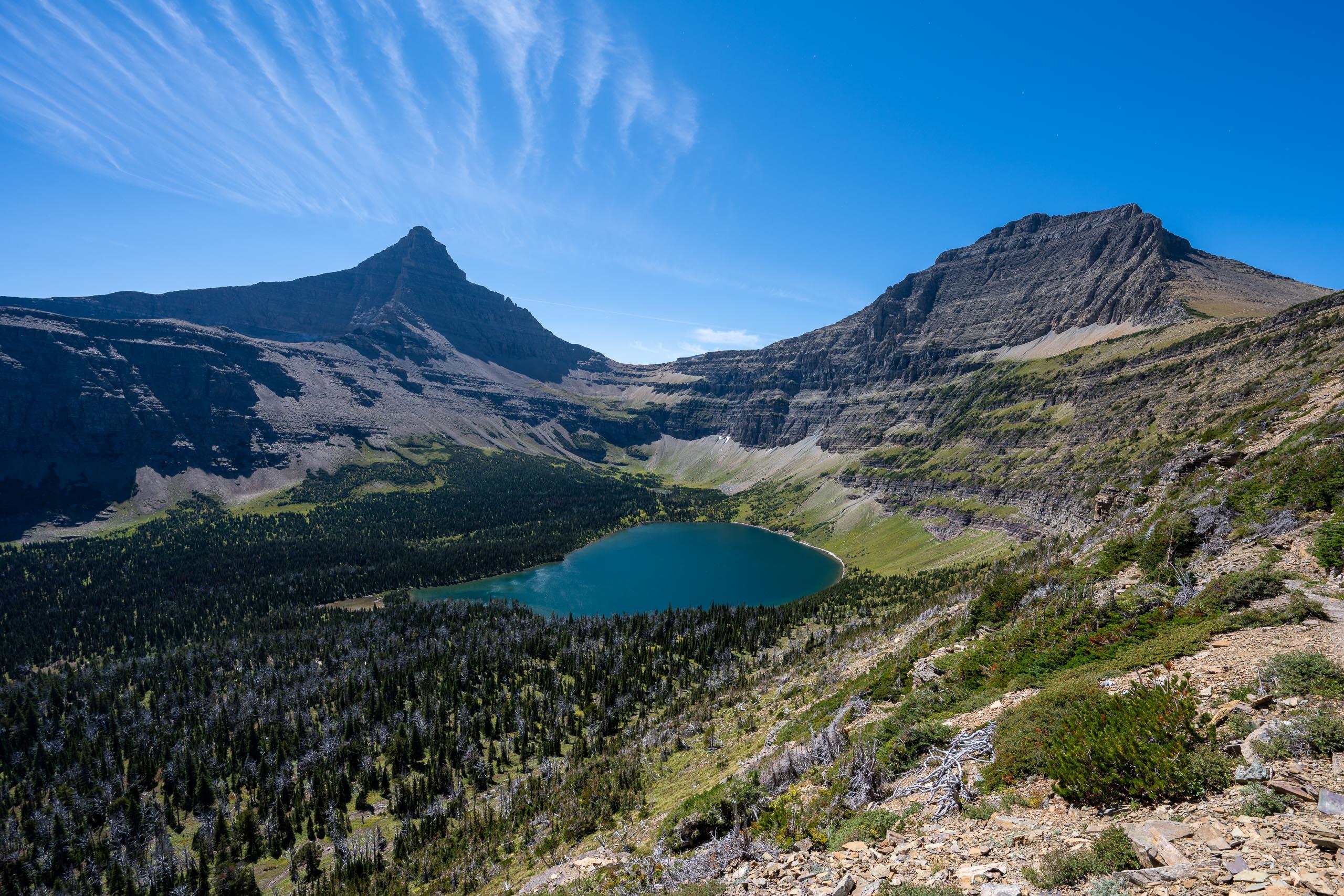 Oldman Lake, Flinsch Peak, Mt. Morgan