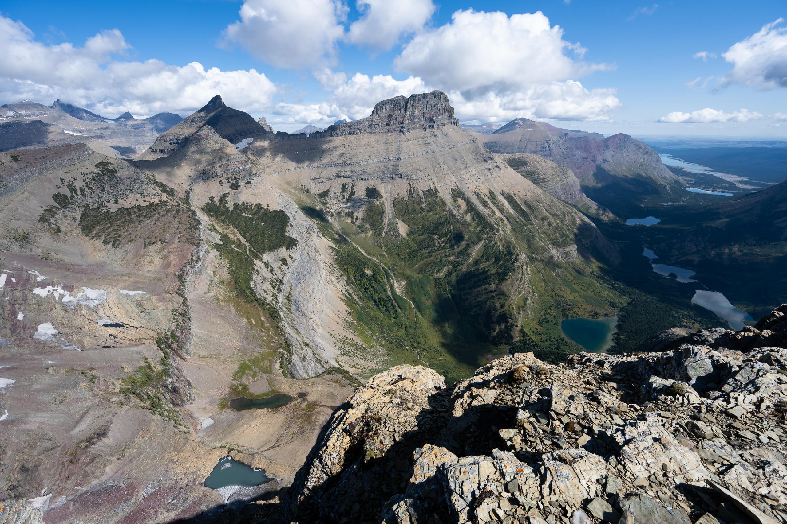 Mt. Wilbur, Swiftcurrent Valley